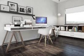 bureau avec treteau bureau style scandinave à la maison 25 idées chic et pratiques à la