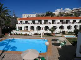 Poolanlagen Im Garten Playamar Bungalows Spanien Playa Del Ingles Booking Com