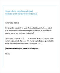 30 resignation letter examples