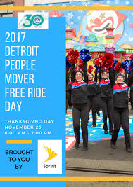 detroit mover offers free rides on thanksgiving day