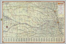 Nebraska State Map by Shell Highway Map Of Nebraska David Rumsey Historical Map