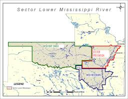 Louisiana Rivers Map Lower Mississippi River Inspections