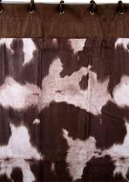 Cowhide Shower Curtain Cowhide Shower Curtain Shower Curtain Rod