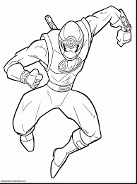 surprising power rangers megaforce coloring pages power