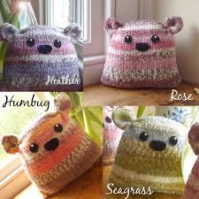plump flump beginner knitting kit personalised by gift
