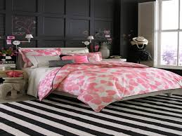 black and white and pink bedroom home design