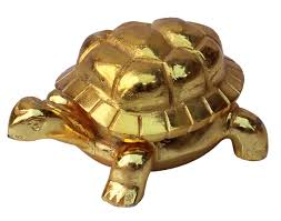 wholesale handmade 5 u201d golden figurine sculpture of tortoise in