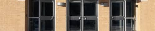 Metal Glass Door by Steel U0026 Metal Doors Frames Ceco Door Commercial Hollow Door