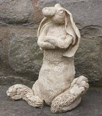 garden ornament splitting hare garden ornaments animal