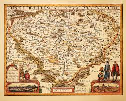 bohemia map bohemia map by pieter den keere photograph by c h apperson