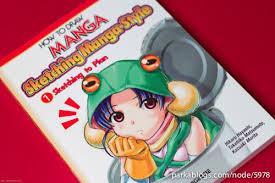 book review how to draw manga sketching manga style volume 1