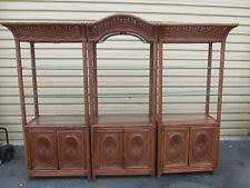 wicker bookcase ebay