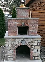 Pizza Oven Outdoor Fireplace by Best 25 Brick Ovens Ideas On Pinterest Brick Oven Outdoor