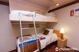 The Interior Cabin With Bunk Beds On Carnival Dream Cruise Ship - Dreams bunk beds