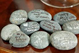 wishing rocks for wedding invitations more photos guest book rocks inside weddings