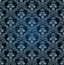 dark vintage wallpaper vintage dark blue wallpaper in victorian style royalty free vector