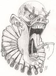 the 25 best scary clown drawing ideas on pinterest eyeball