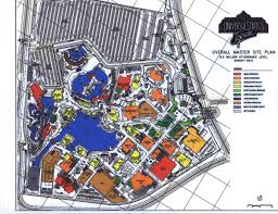 Universal Orlando Map 2015 by Universal Studios U2013 Osaka Japan U2013 Themed Development Management