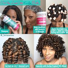 perm rods on medium natural hair kurlee belle get the look chunky perm rod set with kurlee belle