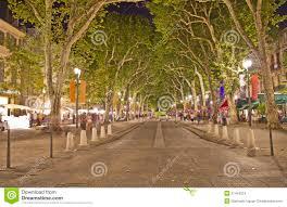 aix en provence main street of aix en provence stock images image 21454224