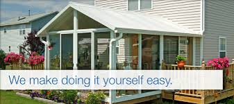Deck To Sunroom Diy Sunroom Kits U0026 Plans For Prefab Sunrooms Great Day Improvements