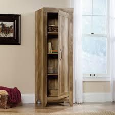 storage cabinets with doors and shelves adept storage narrow storage cabinet 418137 sauder