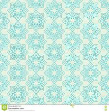 Mint Green Color Floral Pattern In Mint Green Colors Stock Vector Image 73323648