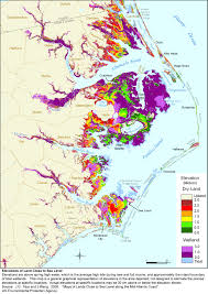 nc maps sea level rise planning maps likelihood of shore protection in