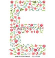 e flowers letter e flowers stock images royalty free images vectors