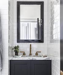 Bathroom Vanity Medicine Cabinet Black Medicine Cabinet With Black Bath Vanity Contemporary
