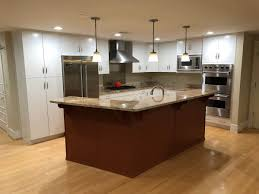 refinish kitchen cabinets paint or stain cabinet painting kennedy painting