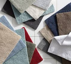 Square Bathroom Rug Pb Classic Bath Rug Pottery Barn