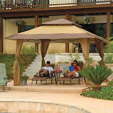 Backyard Gazebos Canopies by Garden Gazebo Canopy Tent Party Pop Up Vented Outdoor Steel