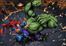 hulk superman u2013 fight ultimate strength titans