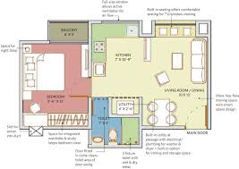 550 sq ft 1 bhk floor plan image patel smondo 3 available for