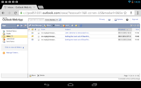 outlook web app android office 365 wave 15 mobile support org
