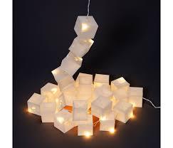 guirlande lumineuse papier japonais lampion papier deco guirlande lumineuse originale lili u0027s