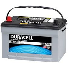 duracell agm automotive battery group size 65 sam u0027s club