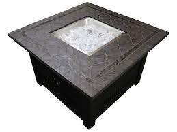 40000 Btu Patio Heater by Az Patio Heaters 40 U0027 U0027 Square Faux Stone Fire Pit Wlf Slt