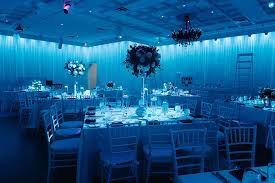 fort lauderdale florida tale black white and blue wedding