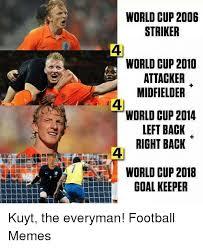 World Cup Memes - world cup 2006 striker world cup 2010 attacker midfielder world