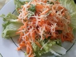 cuisiner vermicelle de riz salade de vermicelle de riz et carottes recette iterroir