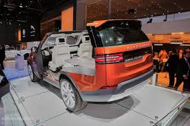 land rover suv 2016 2017 land rover discovery presented in paris as the brand u0027s u201cmost