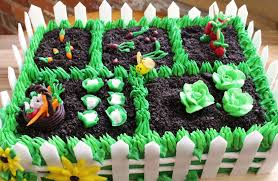 how to make a vegetable garden cake youtube