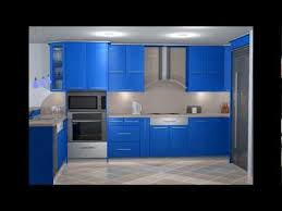 Blue Kitchen Design Great Contemporary Blue Kitchen Design Contemporary Interior