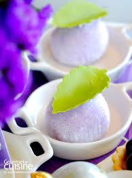 cuisine en violet ส ม วงกำล งมา จ บชากลางท งลาเวนเดอร กลางถนนว ทย gourmet