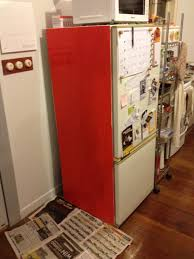 how to chalkboard paint your fridge