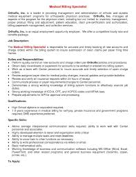 sample resume for medical billing and coding sample office letters good cover letters for jobs sample letter here we have another examples featured under certified medical billing and coding specialist jobs we hope