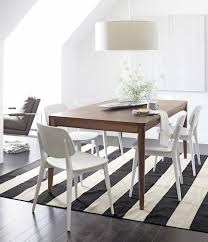 Black And White Striped Dining Chair Home Interior Cool Dining Room Design With Oval White Dining