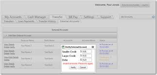 Challenge Method Verifying External Accounts Using Deposit Challenge Method